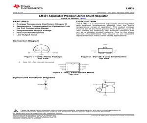 LM431CIM3X/NOPB.pdf