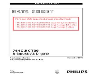 74HC30PW-T.pdf