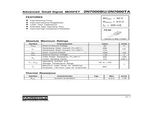 2N7000TAD75Z.pdf