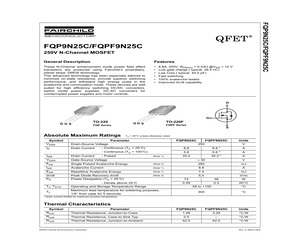 FQPF9N25CT.pdf